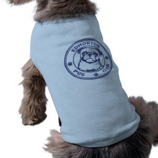 Blauer Hundeshirt