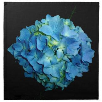 Blauer Hydrangea Serviette