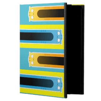 Blauer Kasten iPad gestreiftes Muster der