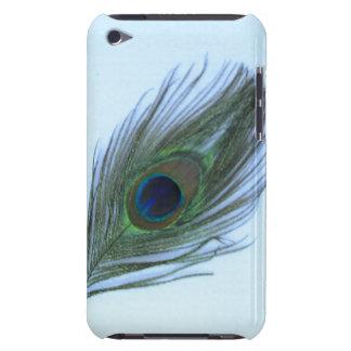 Blauer Kasten Pfau-Federipod kaum dort Barely There iPod Etuis