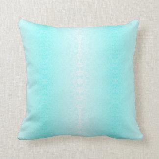 blauer Kissen