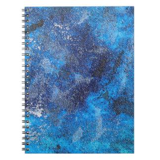 Blauer Kosmos #1 Spiral Notizblock