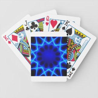 blauer Laser #2 Bicycle Spielkarten