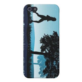 Blauer Läufer iPhone 5 Schutzhülle