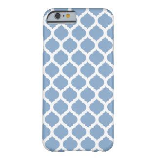 Blauer marokkanischer Muster iPhone 6 Kasten Barely There iPhone 6 Hülle