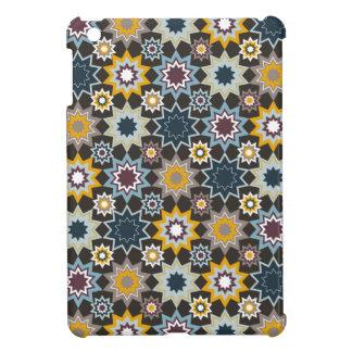 Blauer Marrakesch-Marokkaner spielt geometrisches iPad Mini Hülle