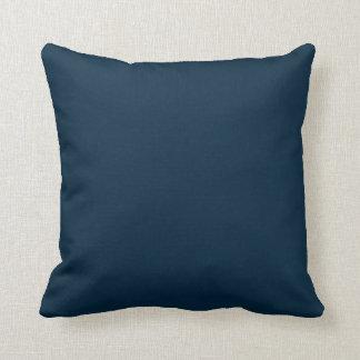 Blauer Mitternachtssamt Kissen