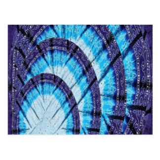 Blauer Mond-Licht HAUBE für Energieeinsparung Postkarte