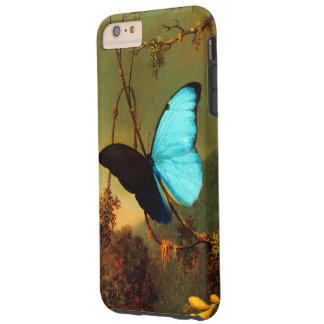 Blauer Morpho Schmetterling Martins Johnson Heade Tough iPhone 6 Plus Hülle