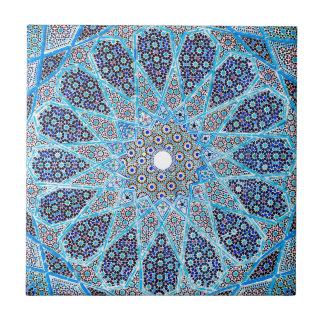 Blauer Orient Kleine Quadratische Fliese