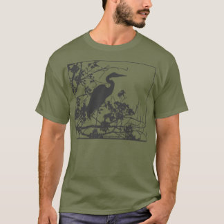 Blauer Reiher T-Shirt