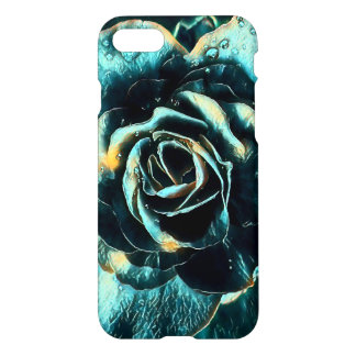 Blauer Rosen-Entwurf iPhone 8/7 Hülle