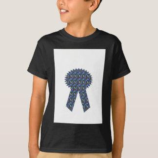 BLAUER SCHEIN-BAND-Erfolgs-Siegerdeckel Billig T-Shirt