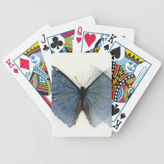 Blauer Schmetterling Bicycle Spielkarten