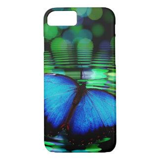Blauer Schmetterling iPhone 7 Kasten iPhone 8/7 Hülle