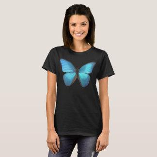 Blauer Schmetterling T-Shirt