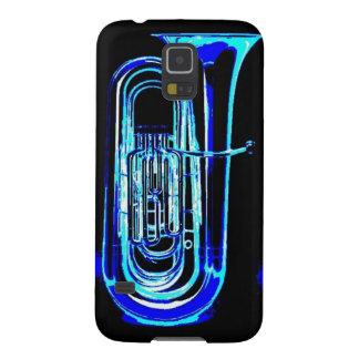 Blauer Tuba Galaxy S5 Hüllen