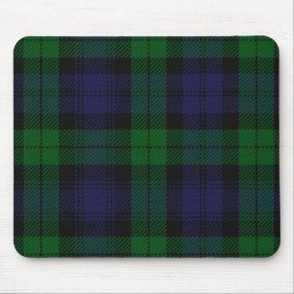 Blauer und grüner Scottish-SunderlandTartan Mousepads
