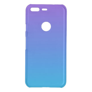 Blauer und lila Ombre Google Pixel Clearly™ Kasten Uncommon Google Pixel Hülle