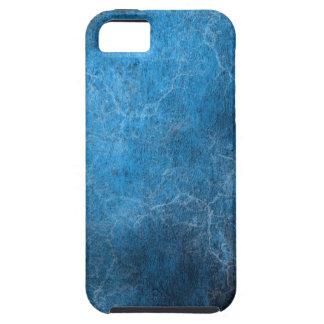 Blauer und schwarzer Hintergrund iPhone 5 Schutzhülle