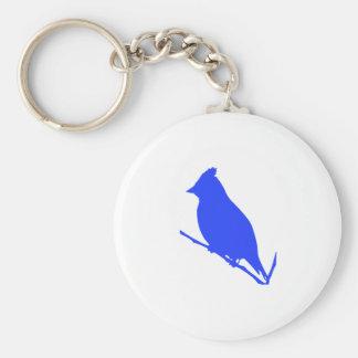 Blauer Vogel Schlüsselanhänger