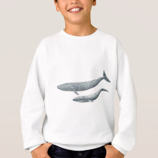 Blauer Wal Sweatshirt