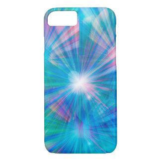 Blaues abstraktes der Abdeckung iPhone 7 Hülle