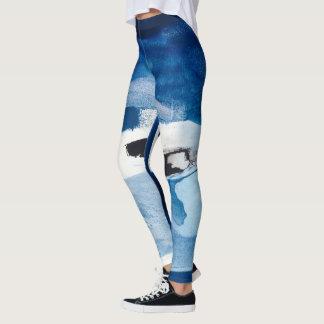 Blaues Amore II Leggings
