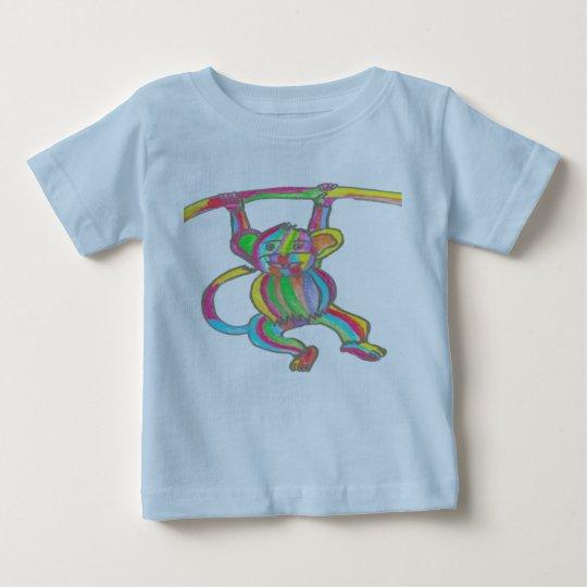 Blaues Baby-T-Shirt Baby T-shirt