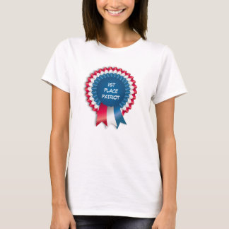 Blaues Band-Patriot T-Shirt