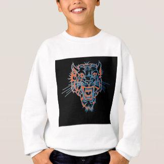 Blaues bengalisches sweatshirt