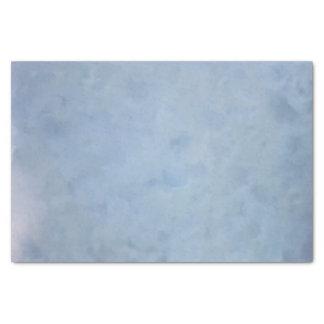 Blaues bewölktes strukturiertes Seidenpapier