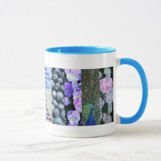 Blaues blaues Blau Tasse
