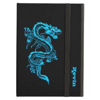 Blaues Drache-Gewohnheits-iPad Air ケース
