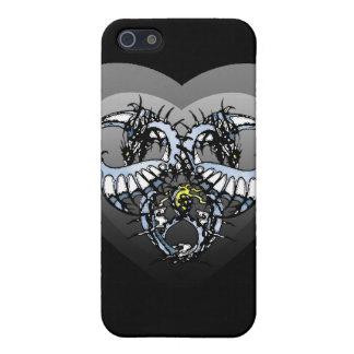 Blaues Eis Dragonheart Hülle Fürs iPhone 5