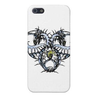 Blaues Eis Dragonheart iPhone 5 Schutzhülle