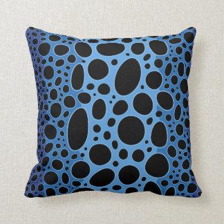 Blaues Gift-Pfeil-Frosch-Druck-Wurfs-Kissen Zierkissen