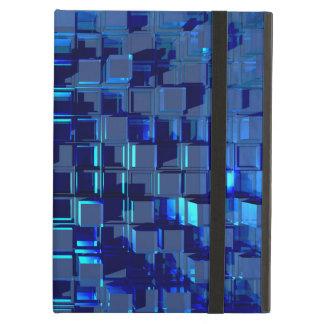 blaues Glas-Mosaik
