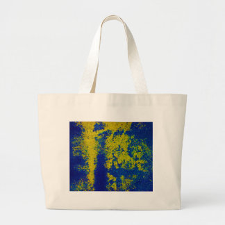 Blaues Gold Tasche