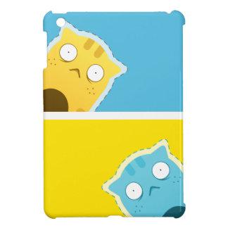 Blaues Ingwer-Katze iPad Minifall iPad Mini Hüllen