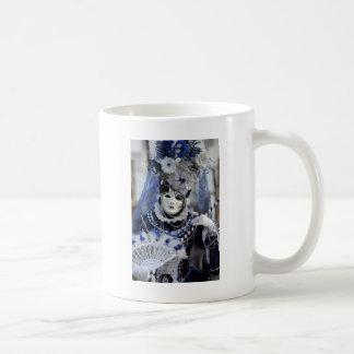 Blaues Kostüm Kaffeetasse
