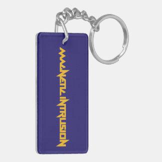 Blaues Logo Schlüsselanhänger