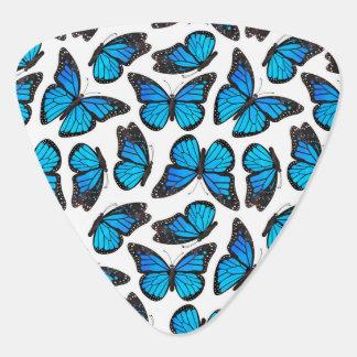 Blaues Monarchfalter-Muster Plektrum