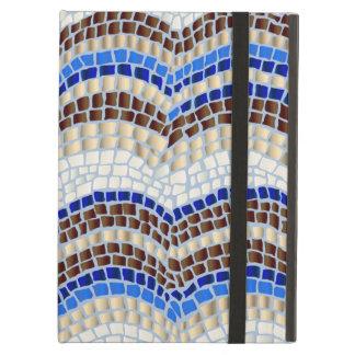Blaues Mosaik-iPad Air ケース