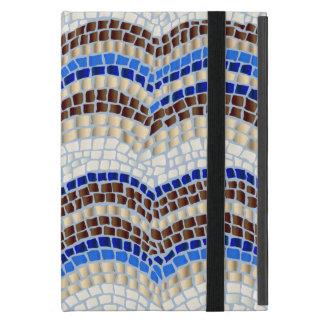Blaues Mosaik iPad Minifall ohne Kickstand iPad Mini Schutzhülle