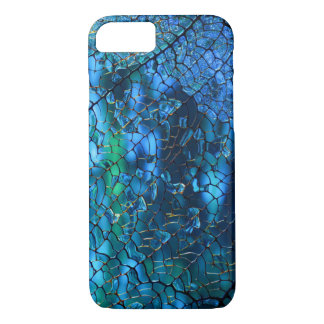 Blaues Mosaik iPhone 8/7 Hülle