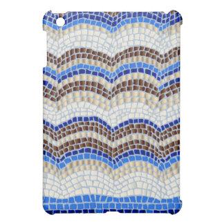 Blaues Mosaik MattiPad Minifall iPad Mini Hülle