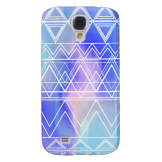 Blaues multi Stammes- Galaxy S4 Hülle