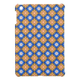 Blaues n Braun des Batiks iPad Mini Hülle