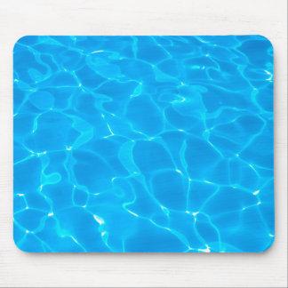 Blaues Pool-Wasser Mousepads